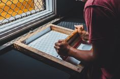 Why spend on a customized print when you can make one at home? Try these DIY Screen printing techniques and print to your heart's content. Screen printing has become increasingly trend… Hobbies For Adults, Hobbies For Men, Fashion Paintings, Cover Design, Diy Screen Printing, Smart Art, Surface Pattern Design, Pattern Designs, Buy Prints