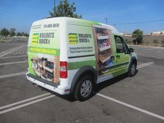 Ford Transit Connect Full Wrap