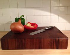 Bespoke hand made solid chopping boards made to order.