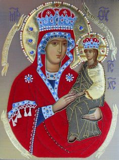 Mother of God the Helper of Sinners - Hand-Painted Icon from the Workshop of St…