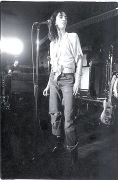 #dreamindenim Patti Smith