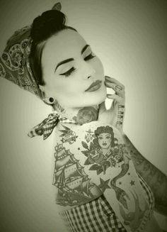 Rockabilly Tattoos  retro tattoo   pinup tattoo   shoulder tattoo   back tattoo   tattoos for girls   tattoo inspiration   tattoo ideas