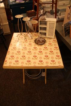 1930's Folding Table