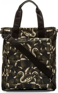 Graphic Summer Bags for the Stylish Man on the Go image Marcelo Burlon County of Milan Snake Print Tote 800x1280
