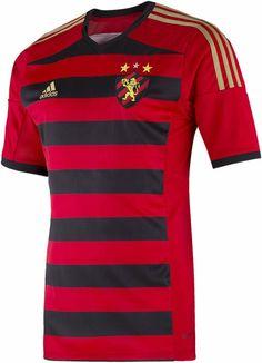 Sport Recife 2014 adidas Home Kits