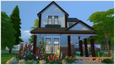 Sims 3 by Mulena: Toms house • Sims 4 Downloads