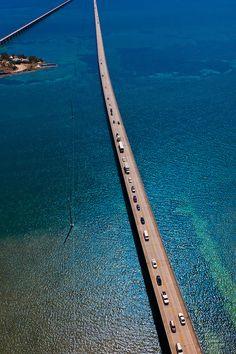 The Seven Mile Bridge, Florida Keys, Florida