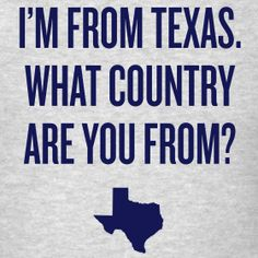 There's a reason Texans are proud of their state!