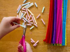 Some fun General Conference activities to do with your toddler or preschooler! Straws and Pipe cleaners, Play-dough mats