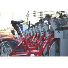 Cool shot from @cincy_streets! #cincyredbike