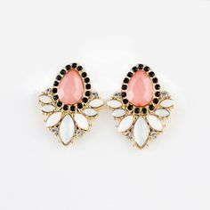 Erica - Coral, Earrings, Gorgeous, Love, Perfect for Spring