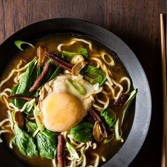 Bacon & Egg Ramen recipe on Food52