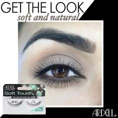 8470cbc6c8c Ardell Soft Touch Lashes #152 Are are made with Ultra soft lash fibers.  These