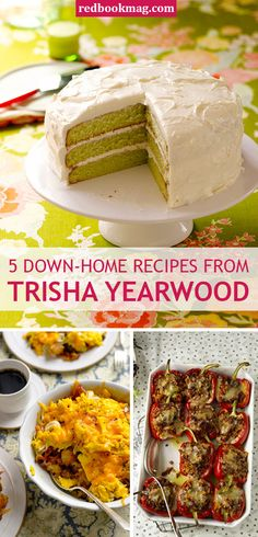 TRISHA YEARWOOD DOWN HOME RECIPES: Country star Trisha Yearwood's sharing her down home recipes from her new cookbook, Home Cooking With Trisha Yearwood, and serving up some of your favorite dishes. Click through for easy and Southern inspired breakfast, lunch, dinner, and dessert dishes and meals.