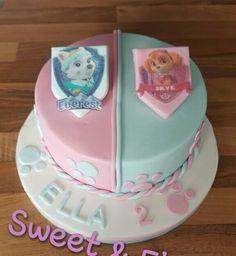 Paw Patrol Skye Everest cake
