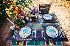 Southwestern Boho Styled Shoot with Pretty Pops of Color