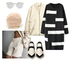 """""""Snare"""" by astrro on Polyvore featuring H&M, Forever 21, Nicholas Kirkwood, Fendi, women's clothing, women, female, woman, misses and juniors"""