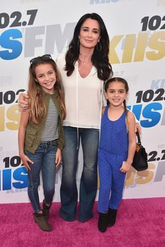 Kyle Richards Photos Photos - TV personality Kyle Richards  (C) and guests attend KIIS FM's Wango Tango 2016 at StubHub Center on May 14, 2016 in Carson, California. - 102.7 KIIS FM's 2016 Wango Tango - Red Carpet