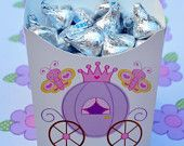 Cute princess party container