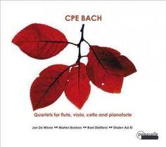 Marten Boeken - Bach: Quartets for Flute, Viola, Cello and Pianoforte