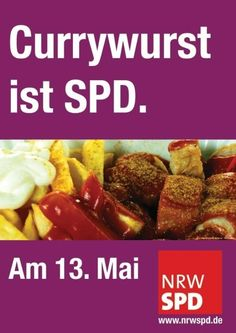Currywurst is a (German democratic party)