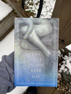 Excited to share this item from my #etsy shop: The Salt in His Kiss  poetry book  by Poet Alfa   Ocean read  Signed copies  Poetry  Quotes  Instagram  Book Club  Mermaid poetry  My Poetry, Poetry Books, Poem Quotes, Poems, I Found You, Little Books, New Beginnings, Strong Women, Bestselling Author