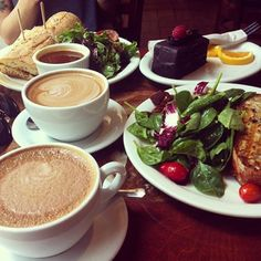 Urth cafe in LA and Santa Monica. THE place to for a delicious healthy breakfast or brunch