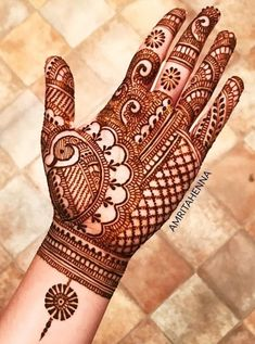 64 Latest Peacock Mehndi Design to try in 2018 for hands and feet - Wedandbeyond<br> Henna Hand Designs, Mehndi Designs Finger, Palm Mehndi Design, Peacock Mehndi Designs, Simple Arabic Mehndi Designs, Full Hand Mehndi Designs, Mehndi Designs 2018, Mehndi Designs Book, Mehndi Design Pictures