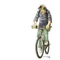 자전거로 경북 영해를 탐사중