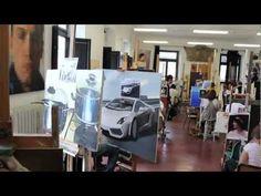 Presentazione Accademia di Belle Arti di Carrara. I vari dipartimenti: anatomia artistica - scultura - arti multimediali - pittura - scenografia - grafica.
