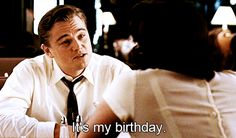 Because it's his 41st birthday today.