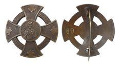 12 ноября 1910 года был утвержден знак Ковенского Свято-Никольско-Петропавловского братства.