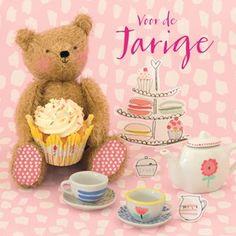 Voor de jarige! Wie geef jij een high tea cadeau? #Hallmark #HallmarkNL #hightea #tea #teawishes #birthday #verjaardag #bday #jarig