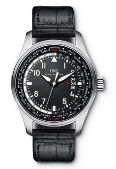 IWC Pilot's Watch Worldtimer.  For the world traveler.  Can display 24 timezones simultaneously.  Pilot watches must be the rage these days.