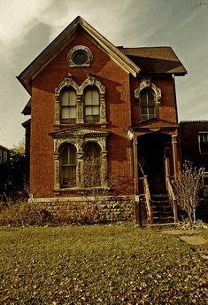 Trumbull St Victorian, Detroit by Equinox27, via Flickr