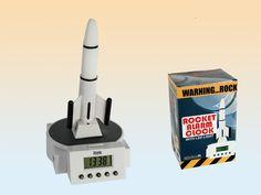 Rocket alarm wekker