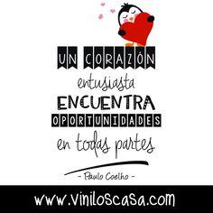 Para todos los #corazones entusiastas --> www.viniloscasa.com