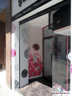 Reforma de local comercial en Camino de las Torres Zaragoza.  www.lacasadelpunto.es/