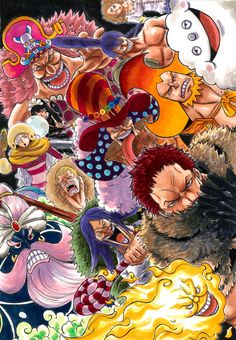 ทวิตเตอร์ One Piece Big Mom, One Piece World, One Piece Wallpaper Iphone, Big Mom Pirates, Anime One Piece, One Piece Pictures, Bd Comics, Manga Covers, Super Hero Costumes
