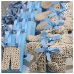 A Little Boy Get ready for lots of laughter and noise... Welcome your new baby boy with Crochet Theme from #BassamGhrawi retail shops... #YourTraditionalPartner #BassamGhrawiConfectionery #Crochet_Theme