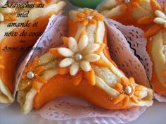arayeche au miel - arayeche aux amandes et noix de coco - Amour de cuisine