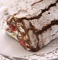 Kerstmenu: Chocoladeboomstam - Koken met Karin