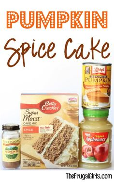 Pumpkin here, Pumpkin there, Pumpkin, Pumpkin everywhere! No Fall dinner is complete without a delicious Fall Dessert... and this easy Pumpkin Spice Cake will satisfy all of your cravings! What You...
