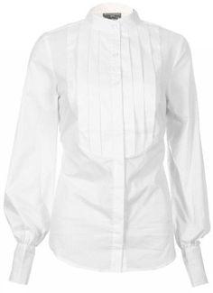 Sutton Studio Womens White Tuxedo Blouse Misses (10) [Apparel] [Apparel] Sutton Studio. $29.95. Save 72% Off!