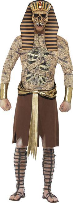 Disfraz faraón zombi adulto Halloween Disponible en http://www.vegaoo.es/p-223118-disfraz-faraon-zombi-adulto-halloween.html?type=product