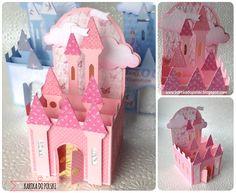 18 Princess Castle BoX Card - Kartka do Polski
