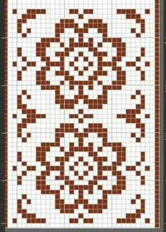 Nordic Antique 003 from Zilmers designs, like their workshop, are rooted in Nordic aesthetics through the ages; from the Scandinavian Arts and Craft movement to the simplicity of modern Danish Design era. Nordic Antique is a collection of contemporary w Cross Stitch Bookmarks, Cross Stitch Borders, Cross Stitch Embroidery, Cross Stitch Patterns, Knitting Charts, Knitting Stitches, Fair Isle Knitting Patterns, Crochet Chart, Crochet Patterns