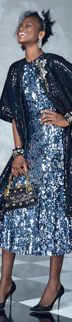 Dolce and Gabbana SS 2017. Para coger ideas pq para mi todo junto muy recargado