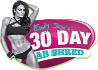 YES! 30 day ab shed and awesome techniques to stay fit and healthy! :)
