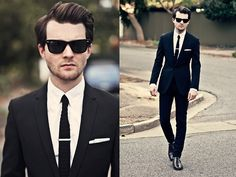 """A man in a well tailored suit is to women what lingerie is to men."" Take note, you men in baggy pants."